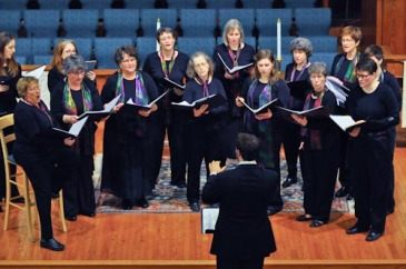 Calliope Women's Chorus performs at Macalester-Plymouth United Church
