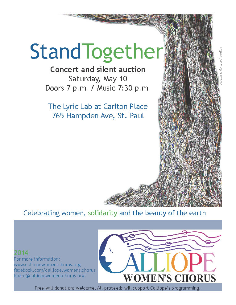 May 10 Calliope flyer spring 2014